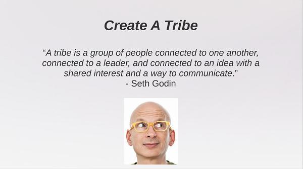 create a tribe seth godin