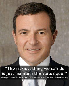 bob Iger quote disney chairman ceo